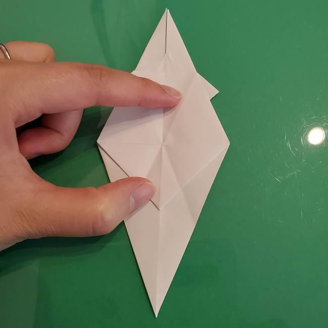 ポケモンの折り紙 ワンパチの折り方作り方①折り方(29)