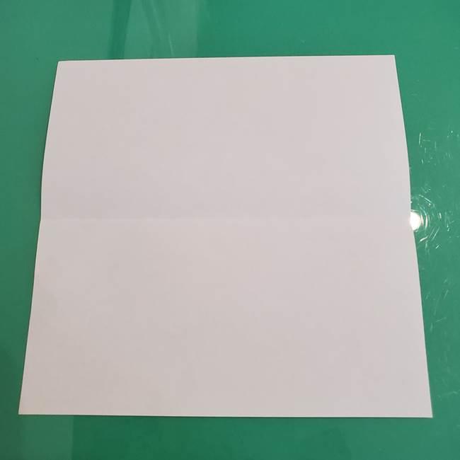 ポケモンの折り紙 ワンパチの折り方作り方①折り方(3)