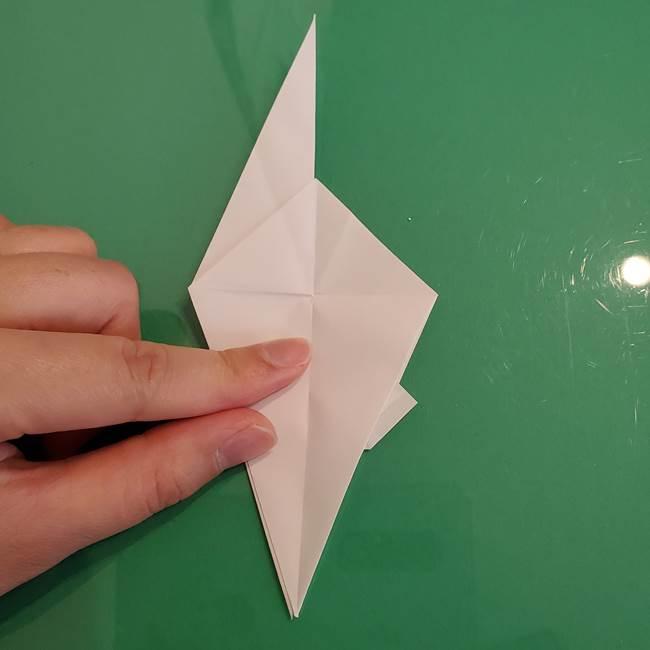 ポケモンの折り紙 ワンパチの折り方作り方①折り方(32)