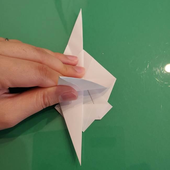 ポケモンの折り紙 ワンパチの折り方作り方①折り方(33)