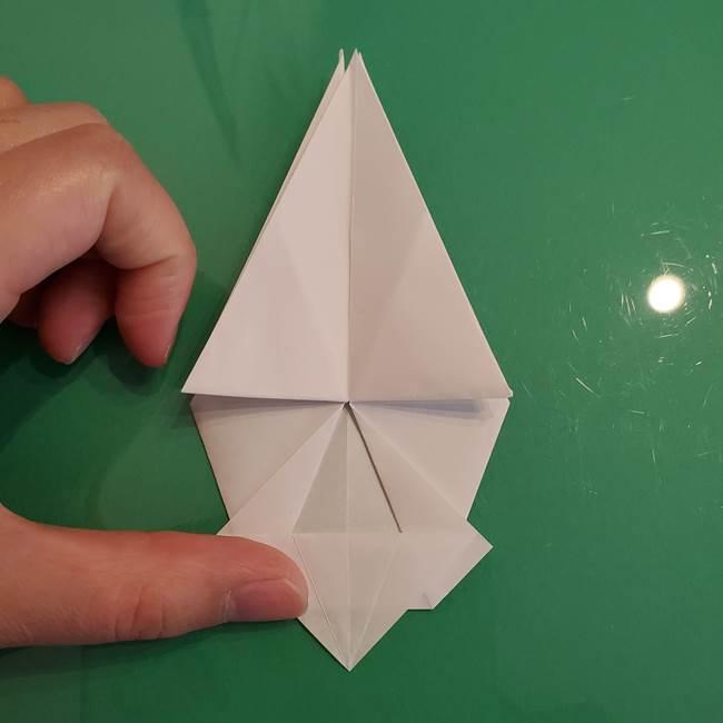 ポケモンの折り紙 ワンパチの折り方作り方①折り方(36)