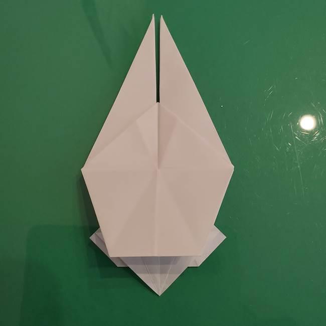 ポケモンの折り紙 ワンパチの折り方作り方①折り方(38)