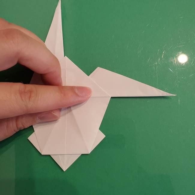 ポケモンの折り紙 ワンパチの折り方作り方①折り方(41)