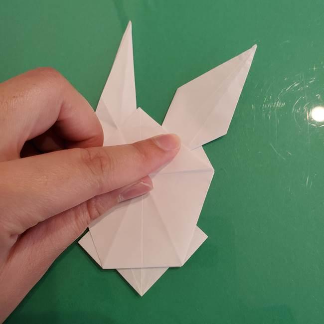ポケモンの折り紙 ワンパチの折り方作り方①折り方(43)