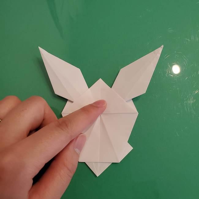 ポケモンの折り紙 ワンパチの折り方作り方①折り方(44)