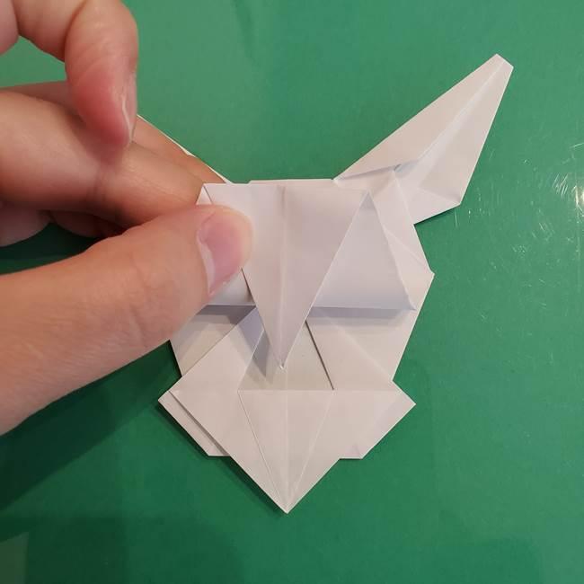 ポケモンの折り紙 ワンパチの折り方作り方①折り方(49)