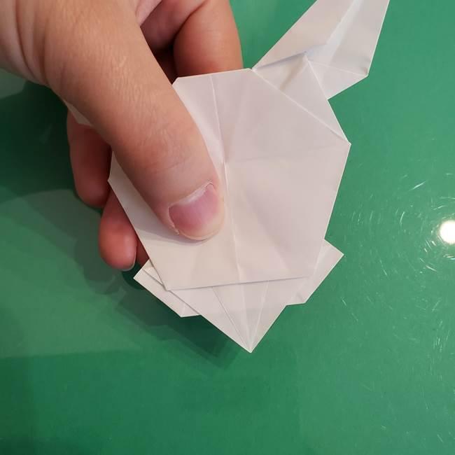 ポケモンの折り紙 ワンパチの折り方作り方①折り方(51)