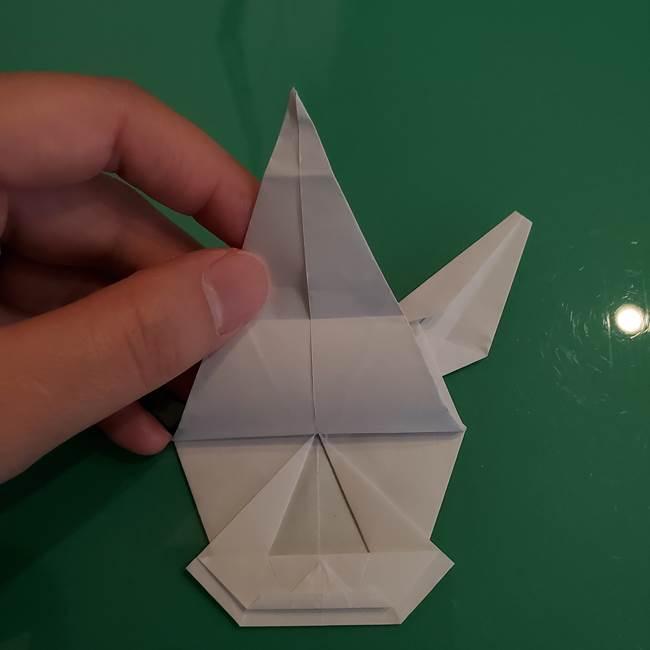 ポケモンの折り紙 ワンパチの折り方作り方①折り方(53)