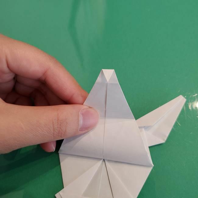 ポケモンの折り紙 ワンパチの折り方作り方①折り方(54)