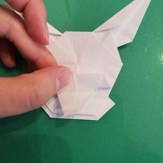 ポケモンの折り紙 ワンパチの折り方作り方①折り方(55)
