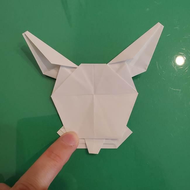 ポケモンの折り紙 ワンパチの折り方作り方①折り方(57)