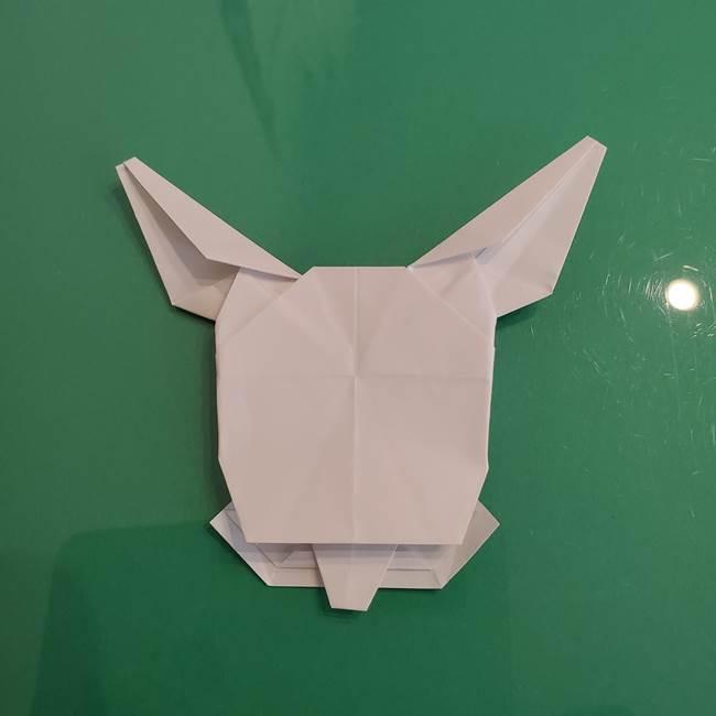 ポケモンの折り紙 ワンパチの折り方作り方①折り方(58)