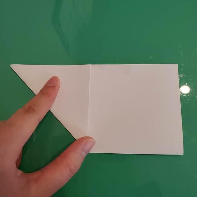 ポケモンの折り紙 ワンパチの折り方作り方①折り方(7)