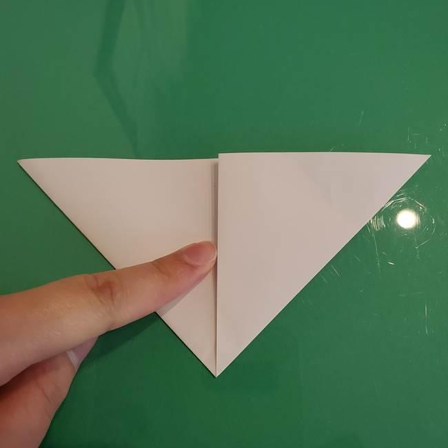 ポケモンの折り紙 ワンパチの折り方作り方①折り方(8)