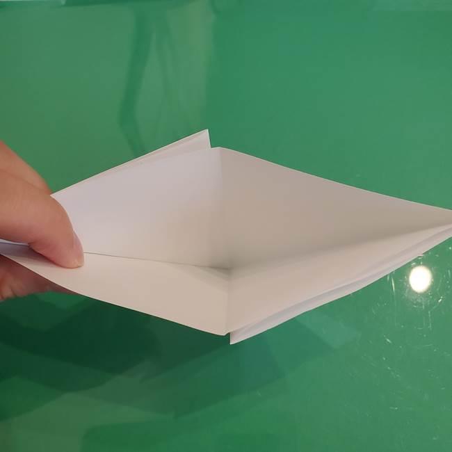 ポケモンの折り紙 ワンパチの折り方作り方①折り方(9)