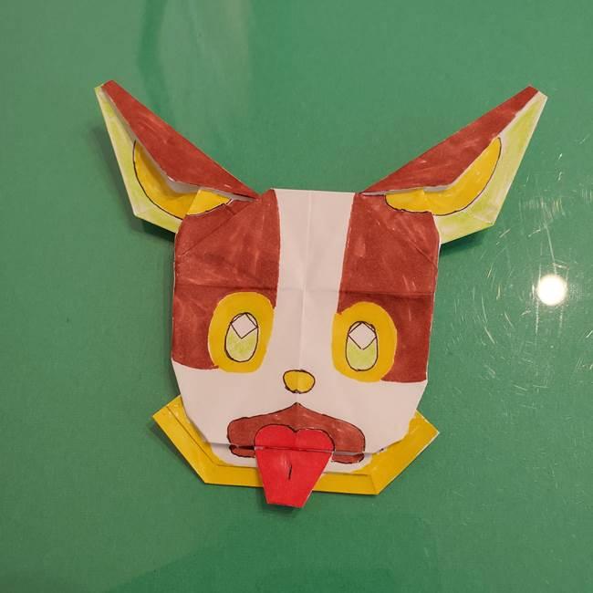 ポケモンの折り紙 ワンパチの折り方作り方☆簡単につくれるか作ってみた!