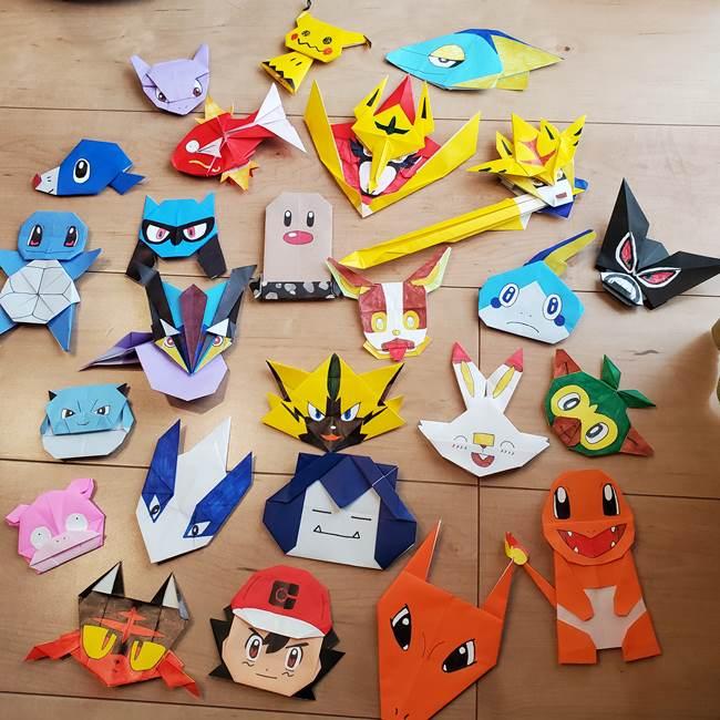 ポケモンの折り紙 ワンパチの折り方作り方まとめ