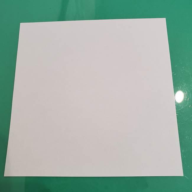 ポケモンの折り紙 ワンパチ*用意するもの1