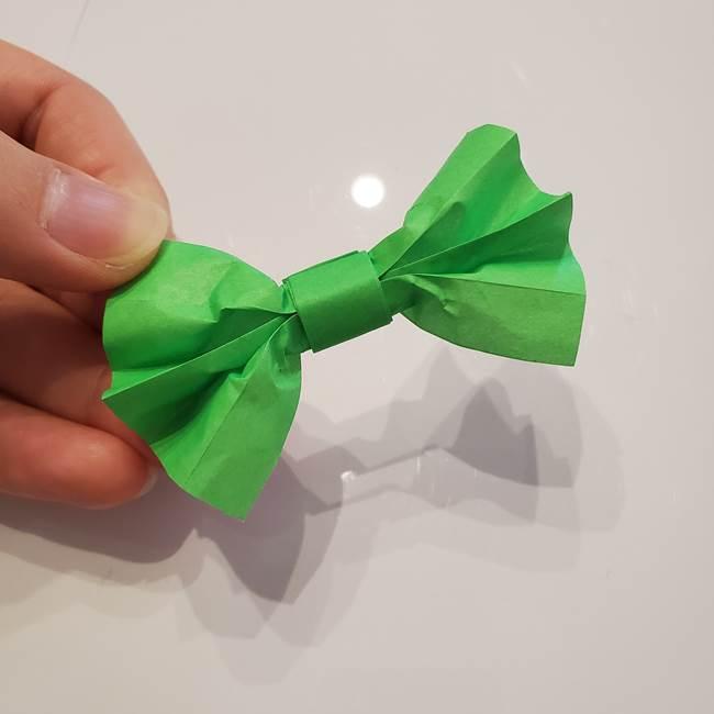 女性用の浴衣の帯の折り方結び方(15)