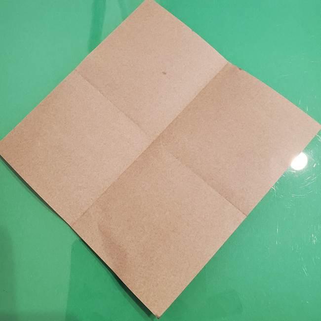 折り紙でなすを立体的につくる折り方作り方①実(5)