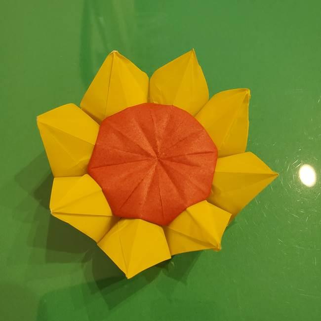 折り紙のひまわりは立体的だと難しい!花の作り方折り方を画像で紹介!
