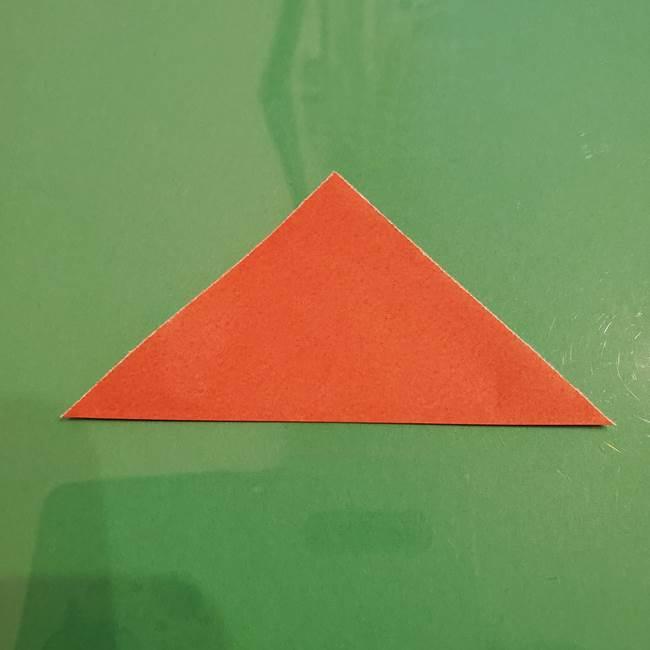 折り紙のひまわり 立体的で少し難しい作り方折り方①貼り合わせ(3)