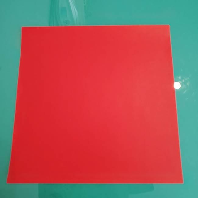 折り紙のザマゼンタ①顔パーツ1(1)