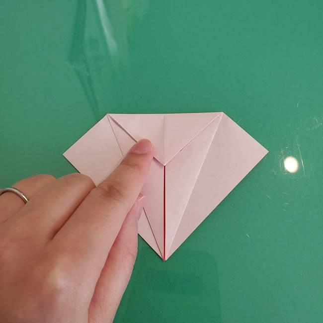 折り紙のザマゼンタ①顔パーツ1(12)