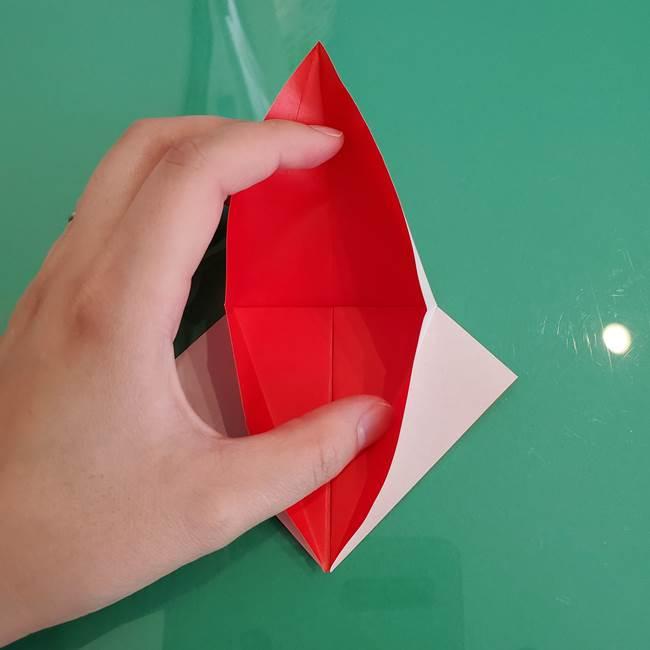 折り紙のザマゼンタ①顔パーツ1(15)