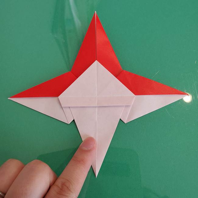 折り紙のザマゼンタ①顔パーツ1(32)