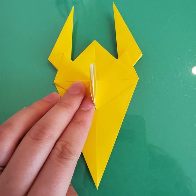 折り紙のザマゼンタ②顔パーツ2(16)
