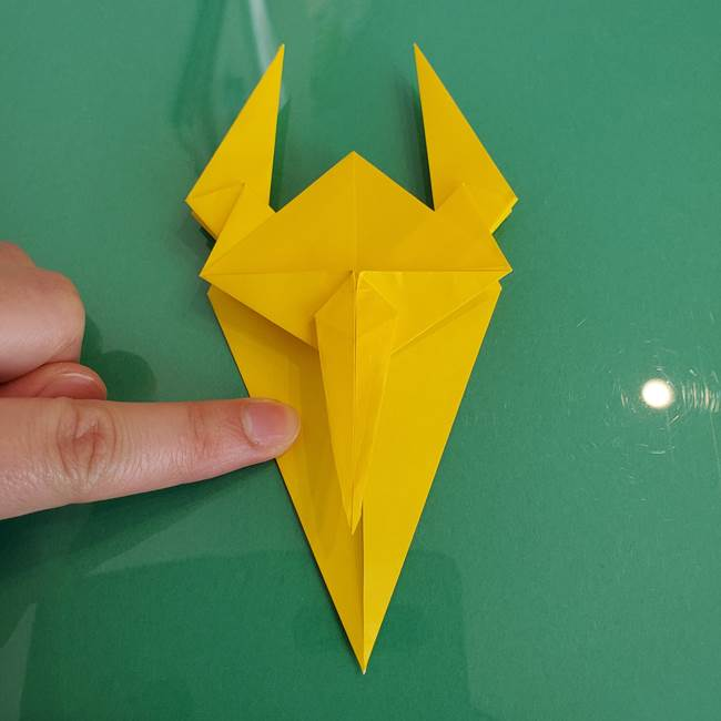 折り紙のザマゼンタ②顔パーツ2(21)
