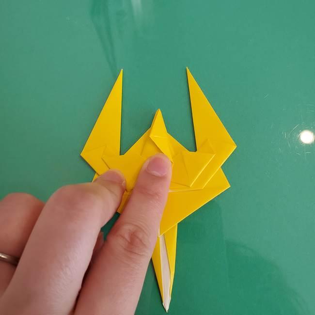 折り紙のザマゼンタ②顔パーツ2(29)