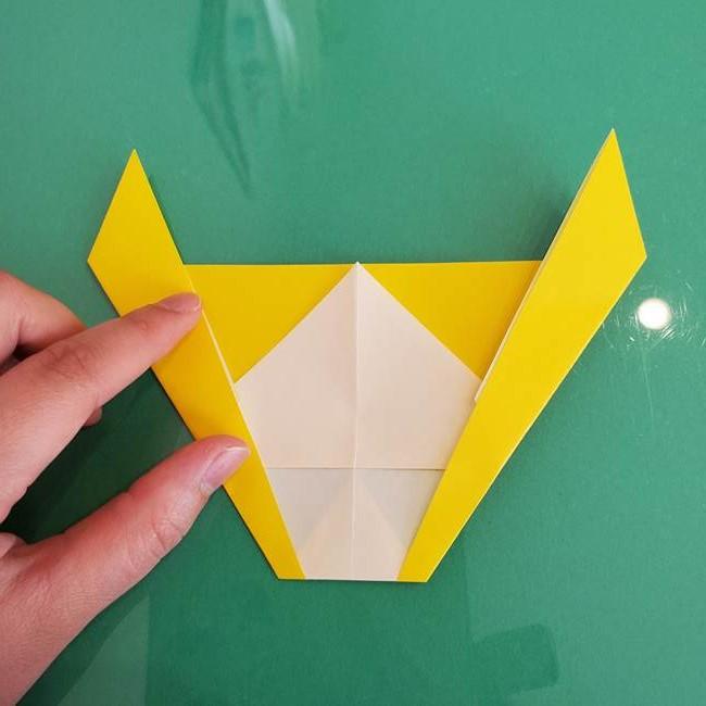 折り紙のザマゼンタ③顔パーツ3(10)