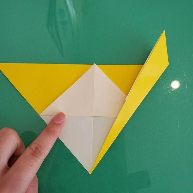 折り紙のザマゼンタ③顔パーツ3(6)
