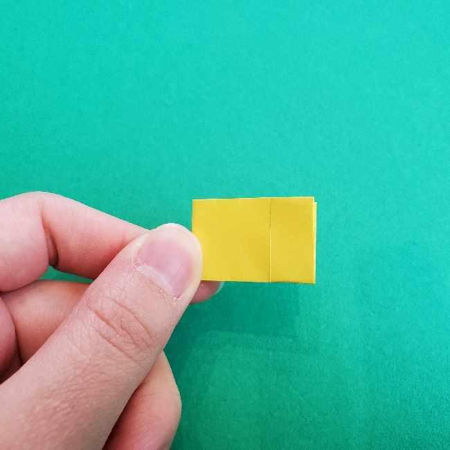 折り紙のミミィちゃんの折り方作り方①リボン (10)