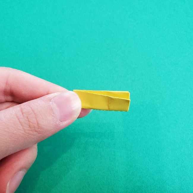 折り紙のミミィちゃんの折り方作り方①リボン (11)