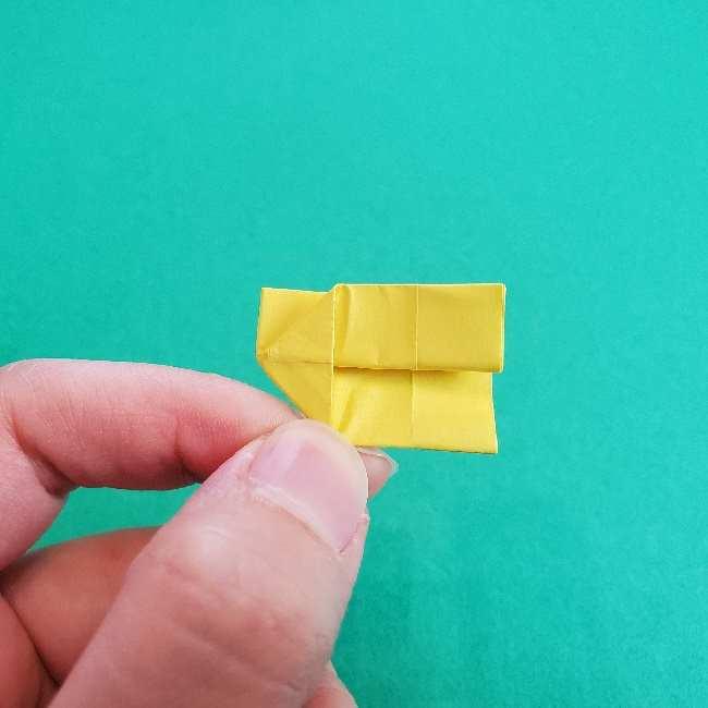 折り紙のミミィちゃんの折り方作り方①リボン (12)