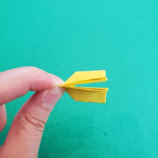 折り紙のミミィちゃんの折り方作り方①リボン (13)