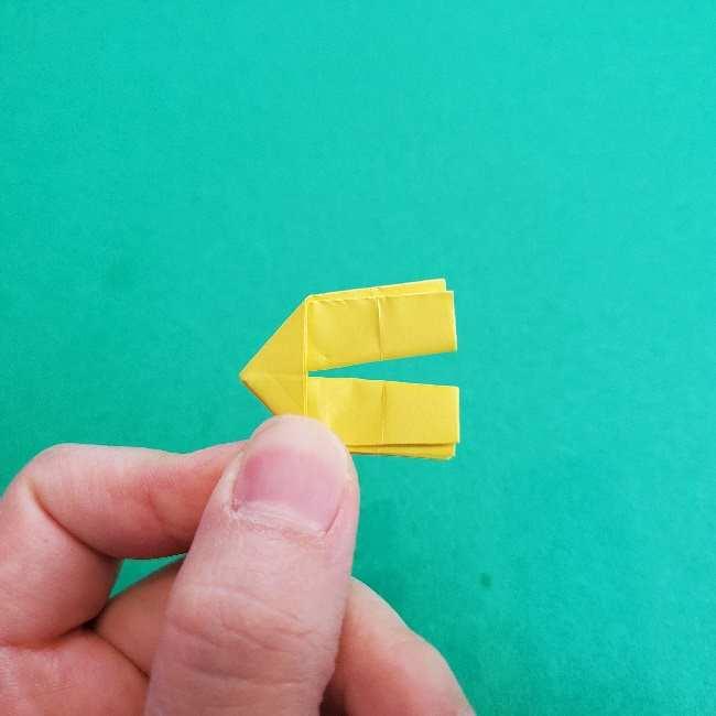 折り紙のミミィちゃんの折り方作り方①リボン (14)