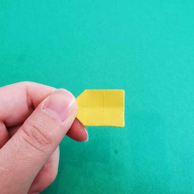 折り紙のミミィちゃんの折り方作り方①リボン (15)