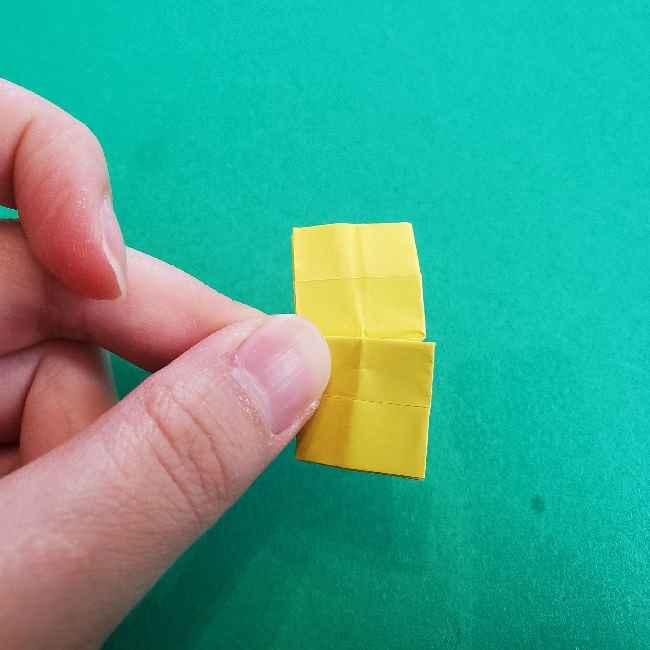 折り紙のミミィちゃんの折り方作り方①リボン (17)