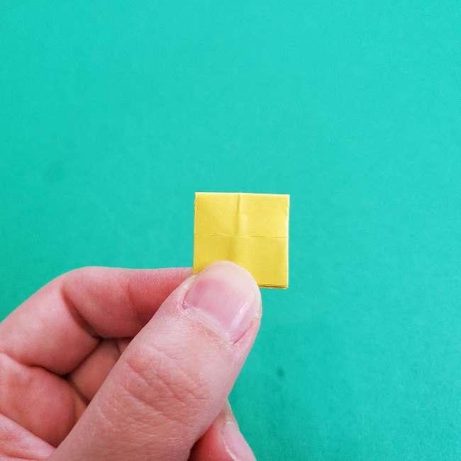 折り紙のミミィちゃんの折り方作り方①リボン (18)