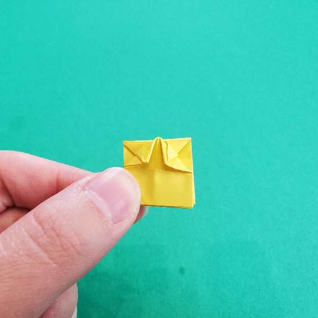 折り紙のミミィちゃんの折り方作り方①リボン (19)