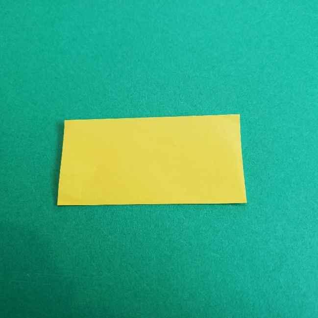 折り紙のミミィちゃんの折り方作り方①リボン (2)
