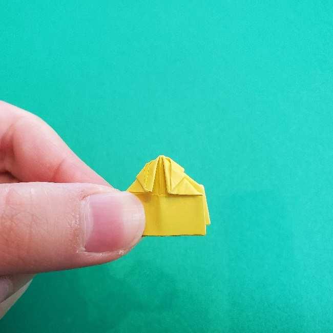 折り紙のミミィちゃんの折り方作り方①リボン (20)