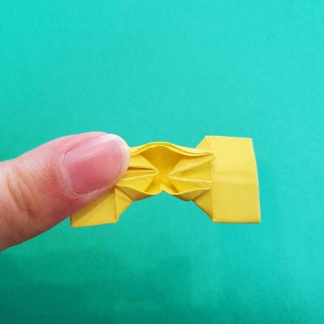 折り紙のミミィちゃんの折り方作り方①リボン (23)