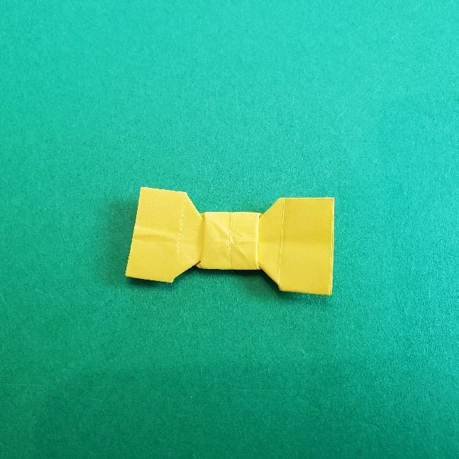 折り紙のミミィちゃんの折り方作り方①リボン (24)