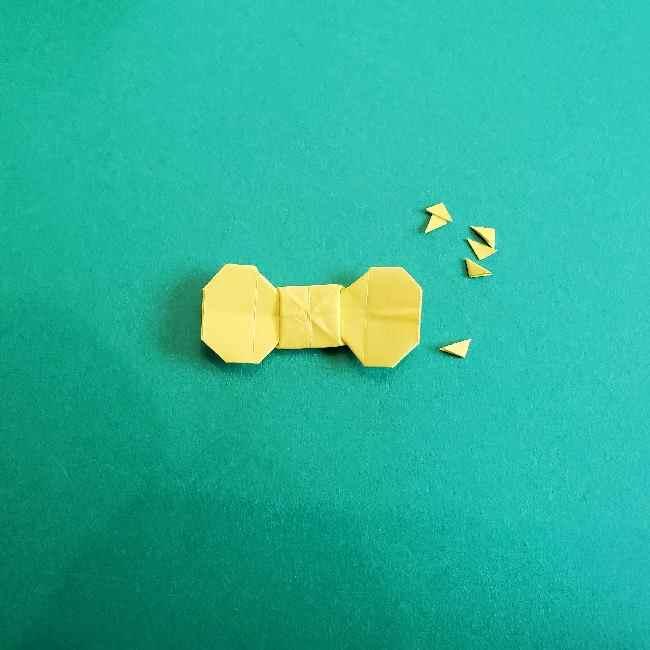 折り紙のミミィちゃんの折り方作り方①リボン (25)