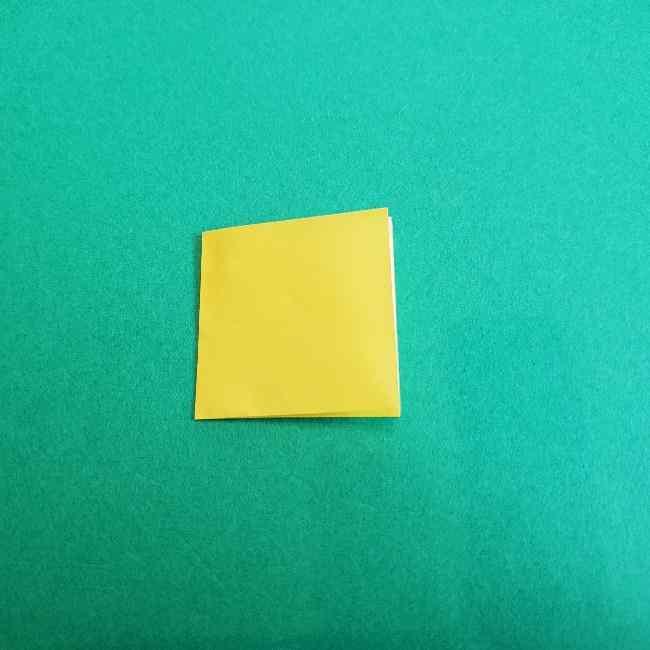 折り紙のミミィちゃんの折り方作り方①リボン (3)
